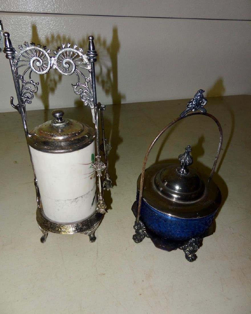 2 Victorian Silverplate Serving Pieces - 2