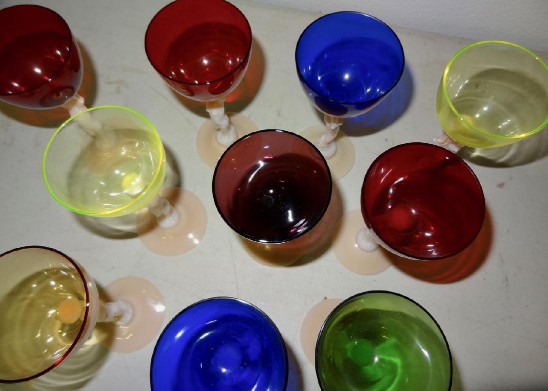 10 Nude Cambridge Goblets - 4