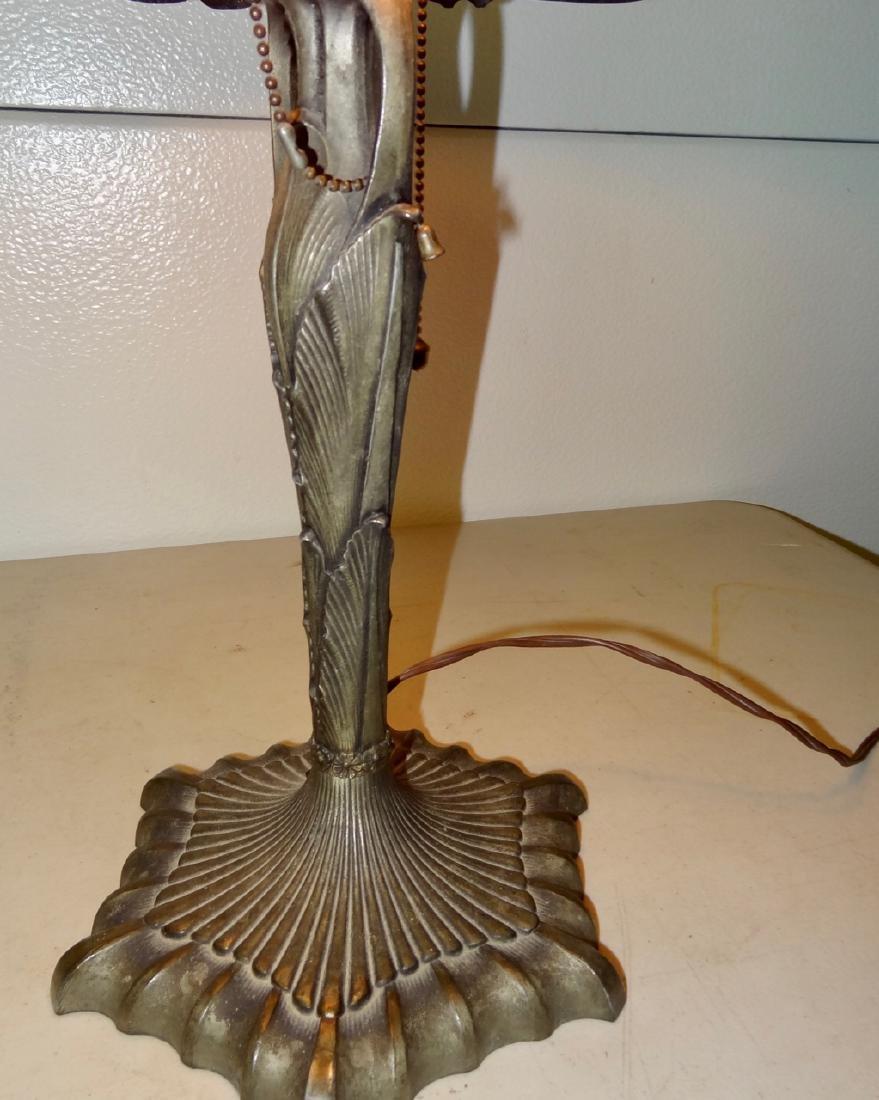 Victorian Scenic Panel Lamp - 2
