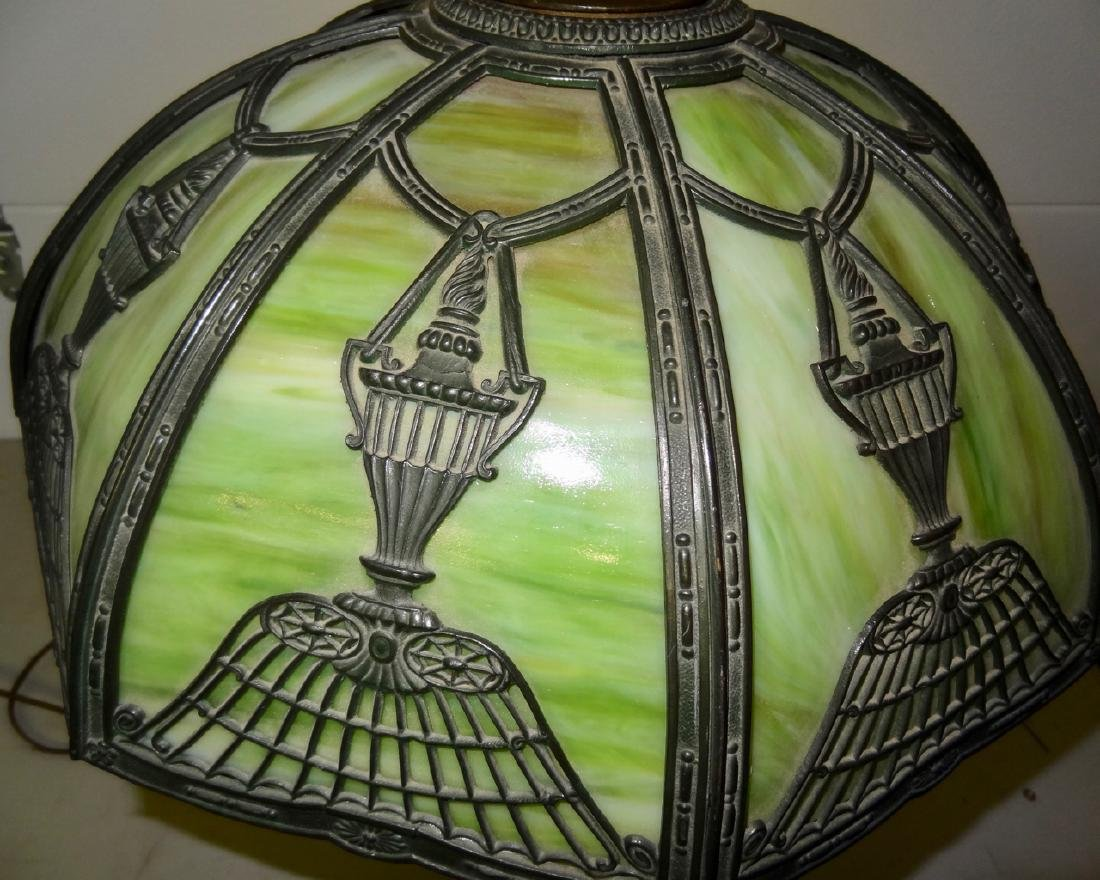 Curved Glass Panel Lamp - 2