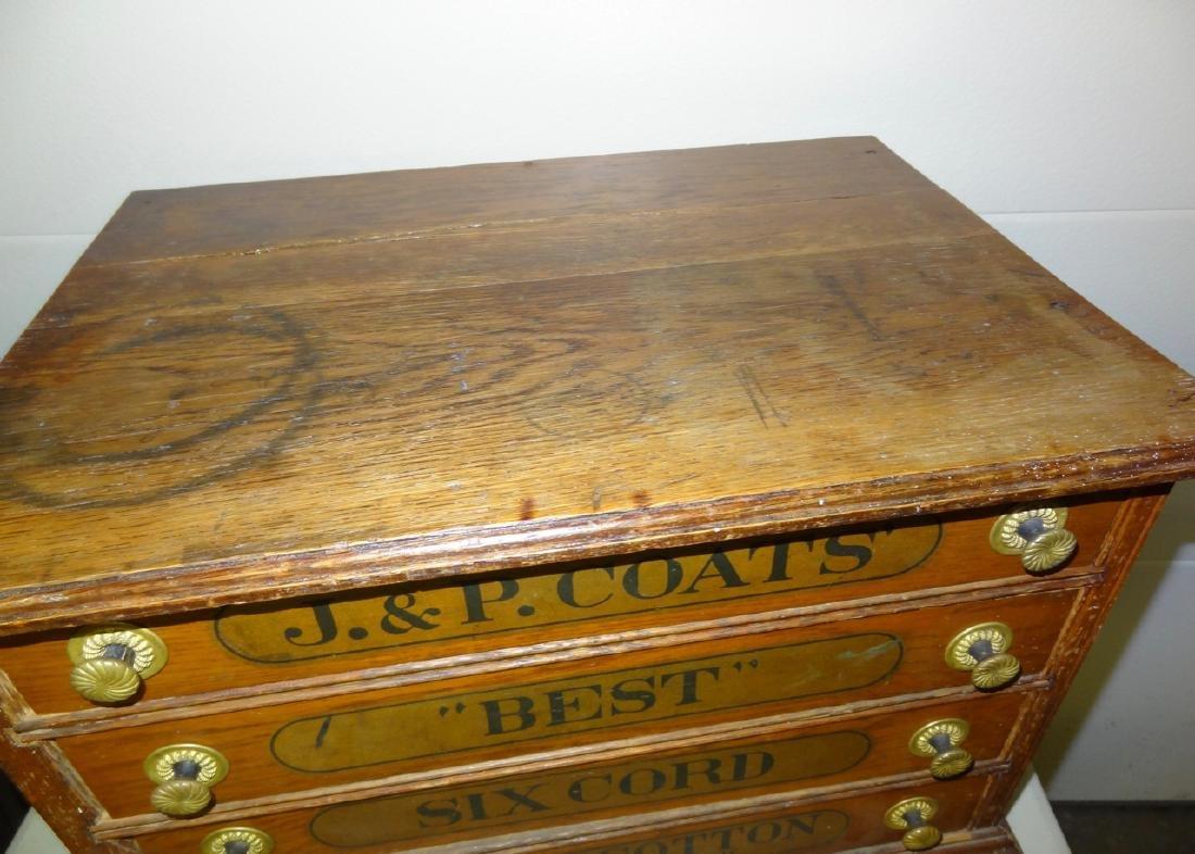 JP Coates 4 Drawer Spool Cabinet - 2