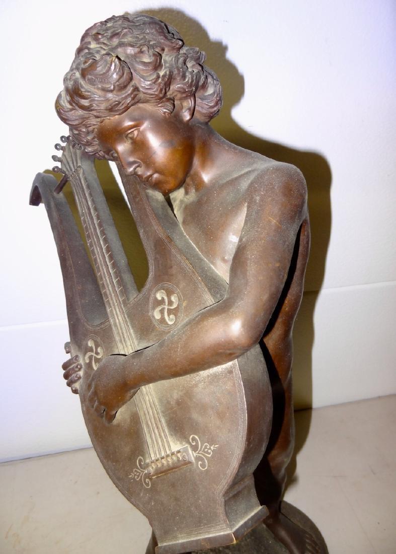 Large Signed Y.Kof Bronze Statue - 2