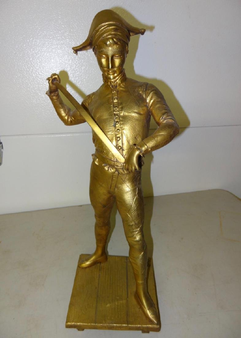 Signed J or F Dubois Bronze Statue