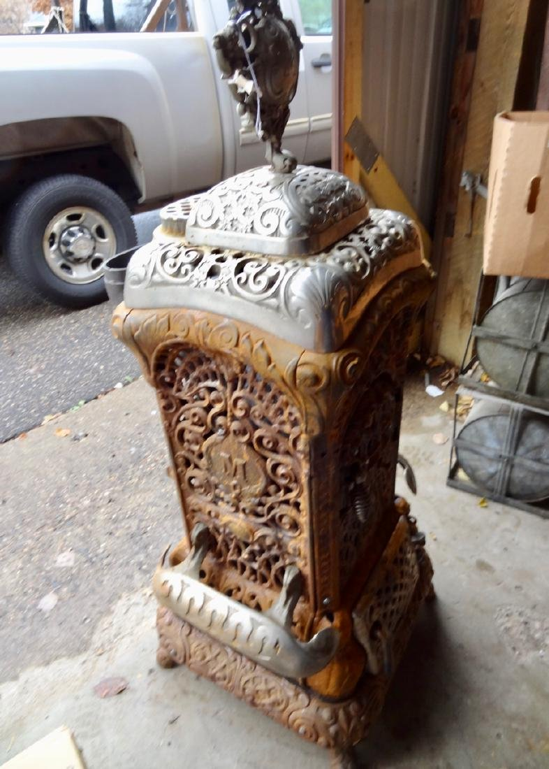 Moore's Cast Iron Parlor Stove - 2