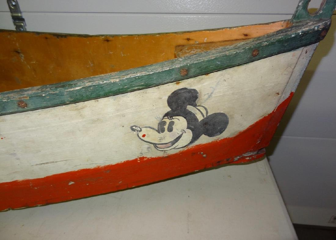Mickey Mouse Carnival Ride Boat - 2