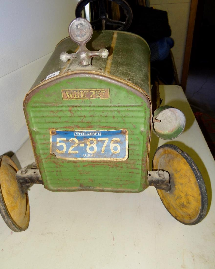 Whippet Antique Pedal Car - 2