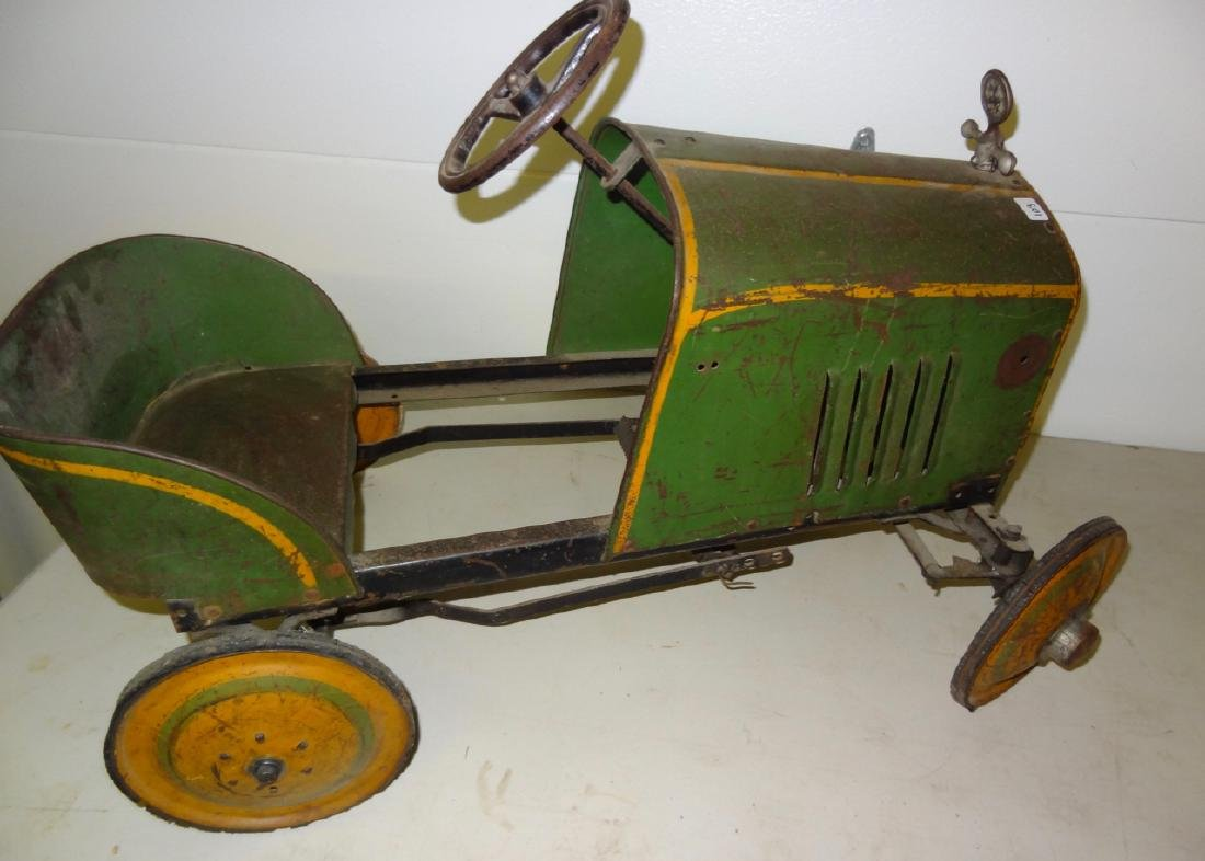 Whippet Antique Pedal Car - 4