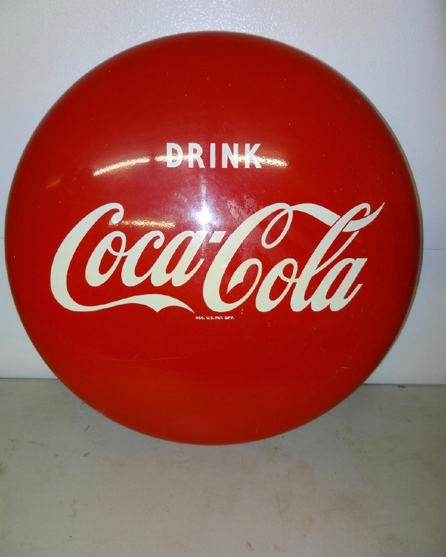 "24"" Coca Cola Button"