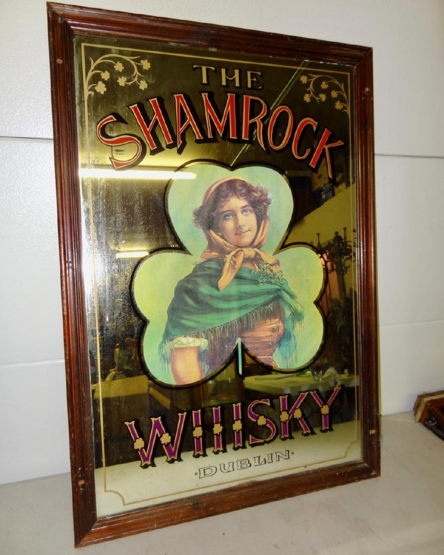 Old Shamrock Whiskey Sign