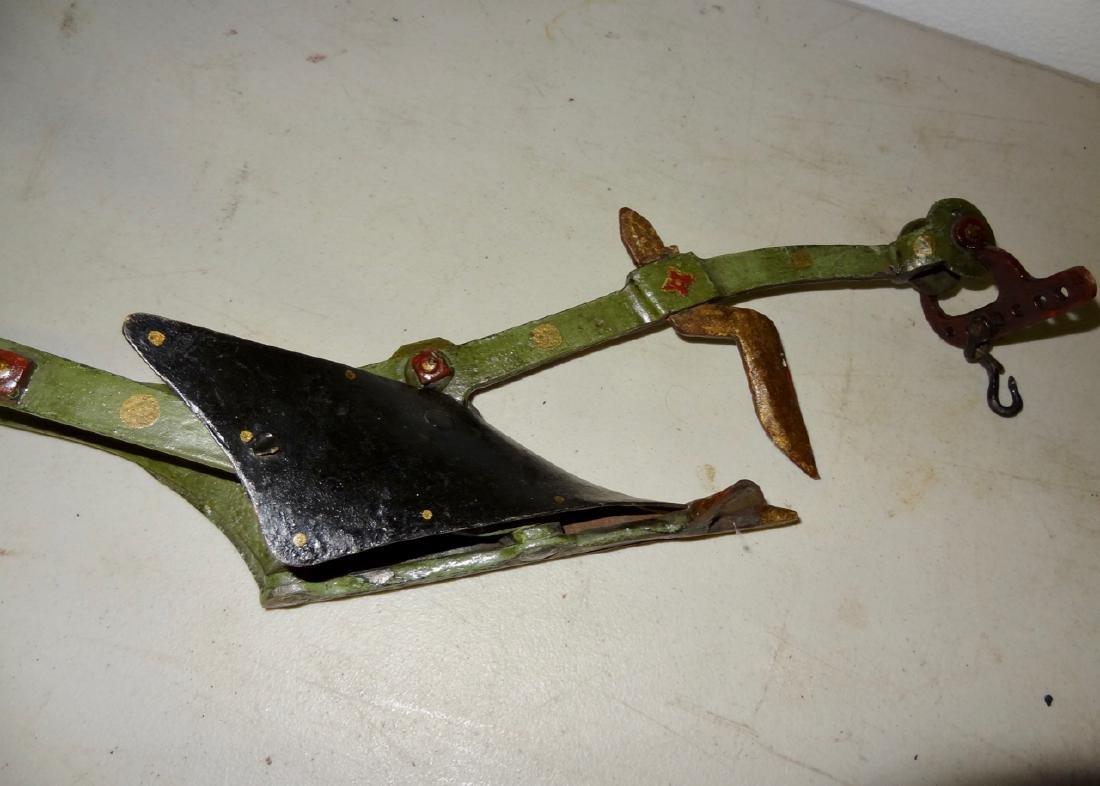 Salesman Sample Iron Farm Plow - 4