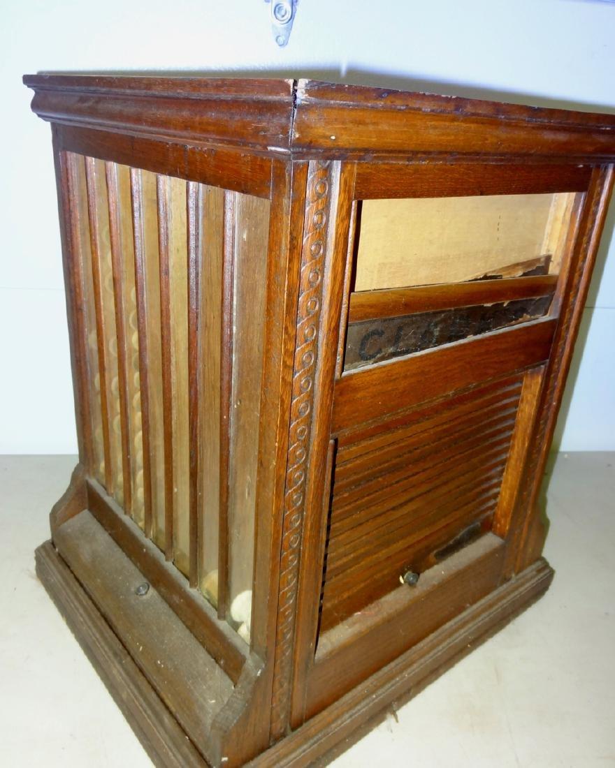 JP Coates Oak Spool Cabinet - 2
