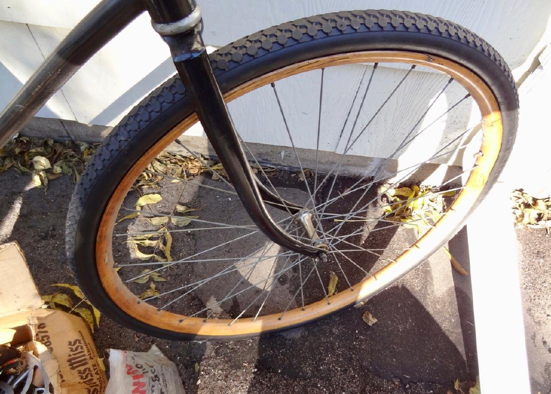Skip Chaing Wood Rimmed Boy's Bicycle - 4