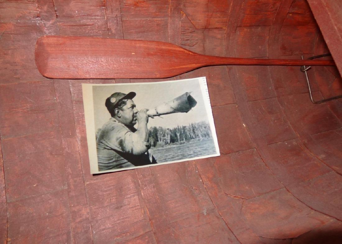 Birch Bark Salesman Sample Canoe - 3