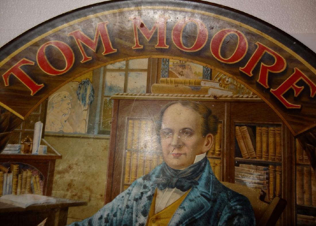 Tom Moore 10 Cent Cigar Tin Advertising - 2