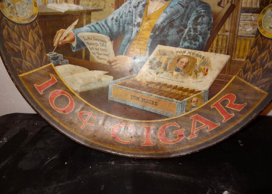 Tom Moore 10 Cent Cigar Tin Advertising - 3