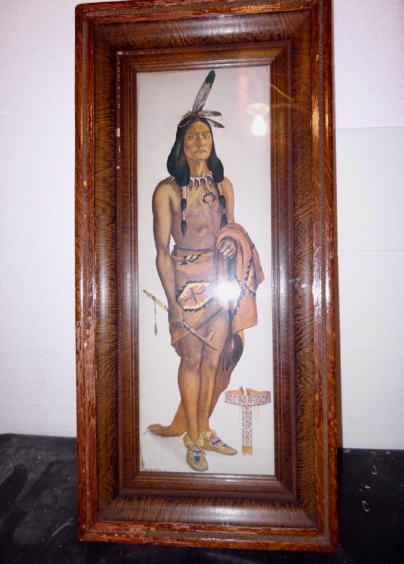 Unusual Doe-Watt-Jack Indian Advertisement