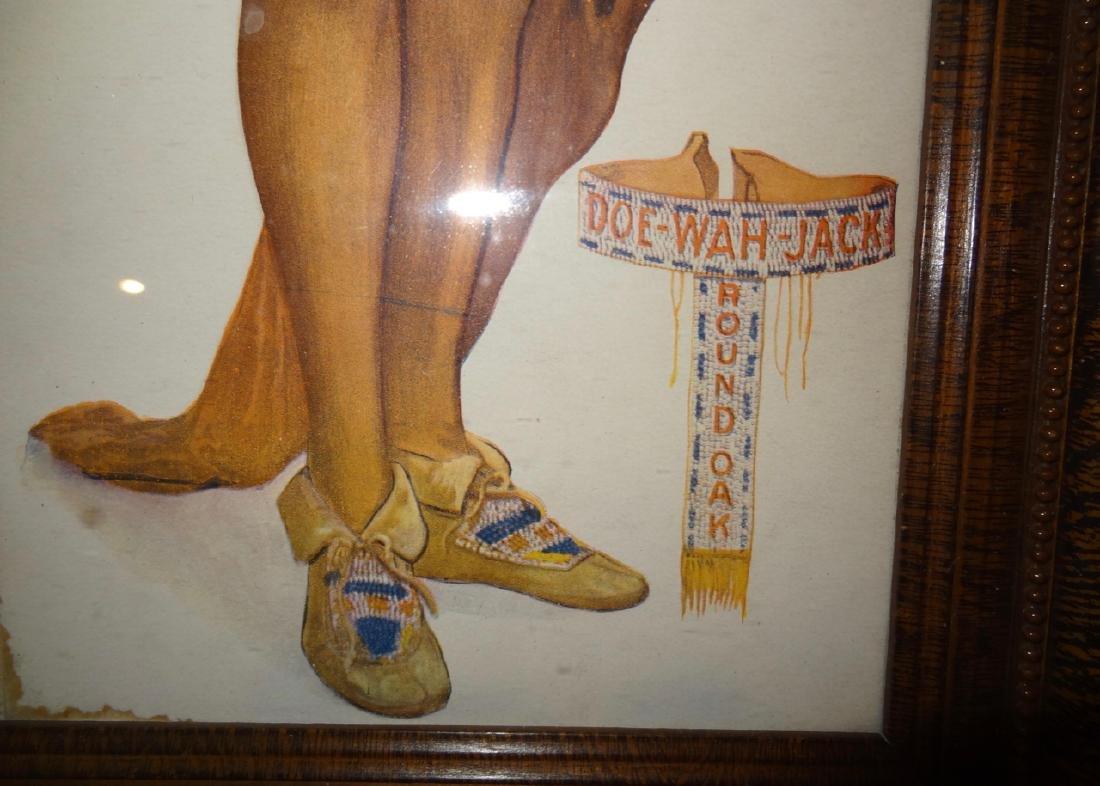 Unusual Doe-Watt-Jack Indian Advertisement - 2