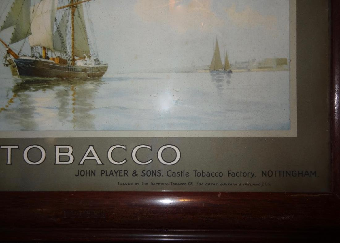 Player's Navy Cut Tabacco Frame Ad. - 3