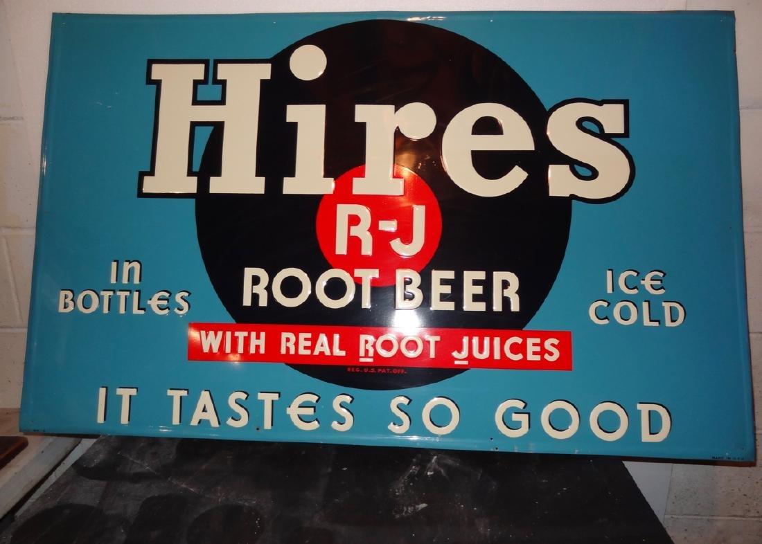 Hires Rootbeer Sign