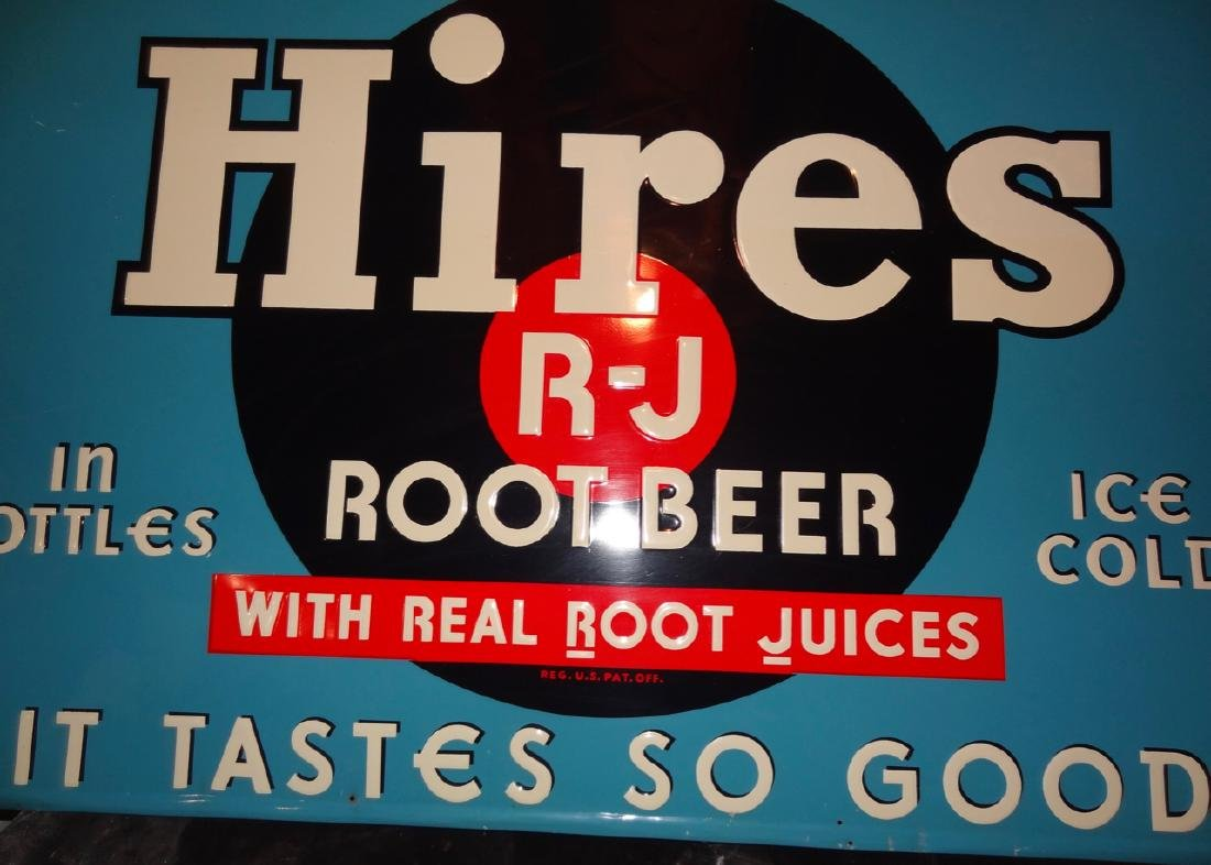 Hires Rootbeer Sign - 2