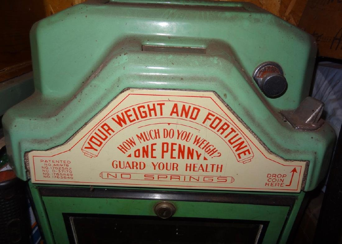 Your Weight & Fortune Watling Penny Scale - 2