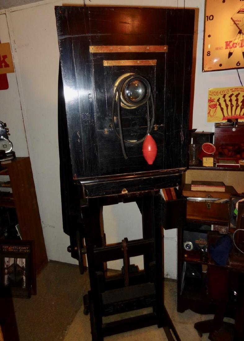 Large Century Studio Camera on Stand