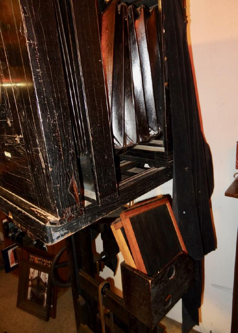 Large Century Studio Camera on Stand - 2
