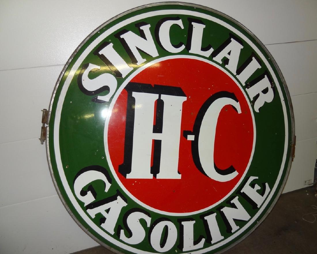 Large Sinclair Gasoline Sign - 2