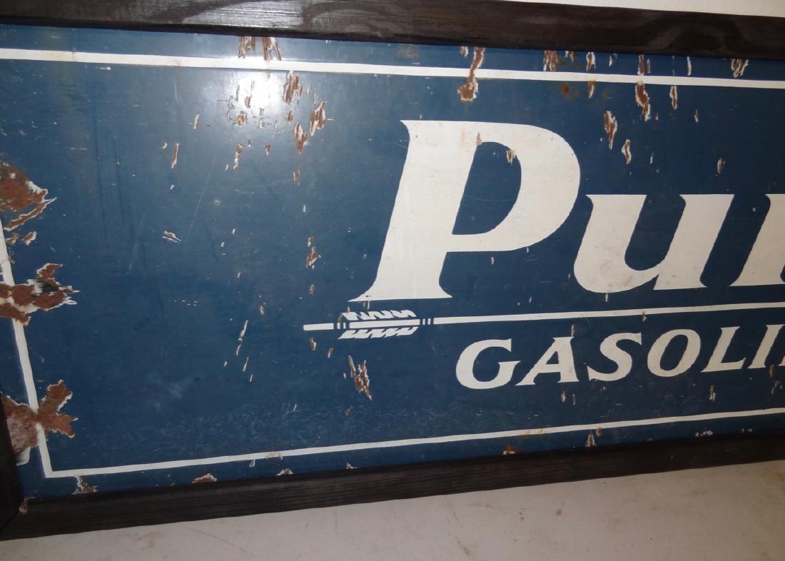 Purol Gasoline Sign - 2