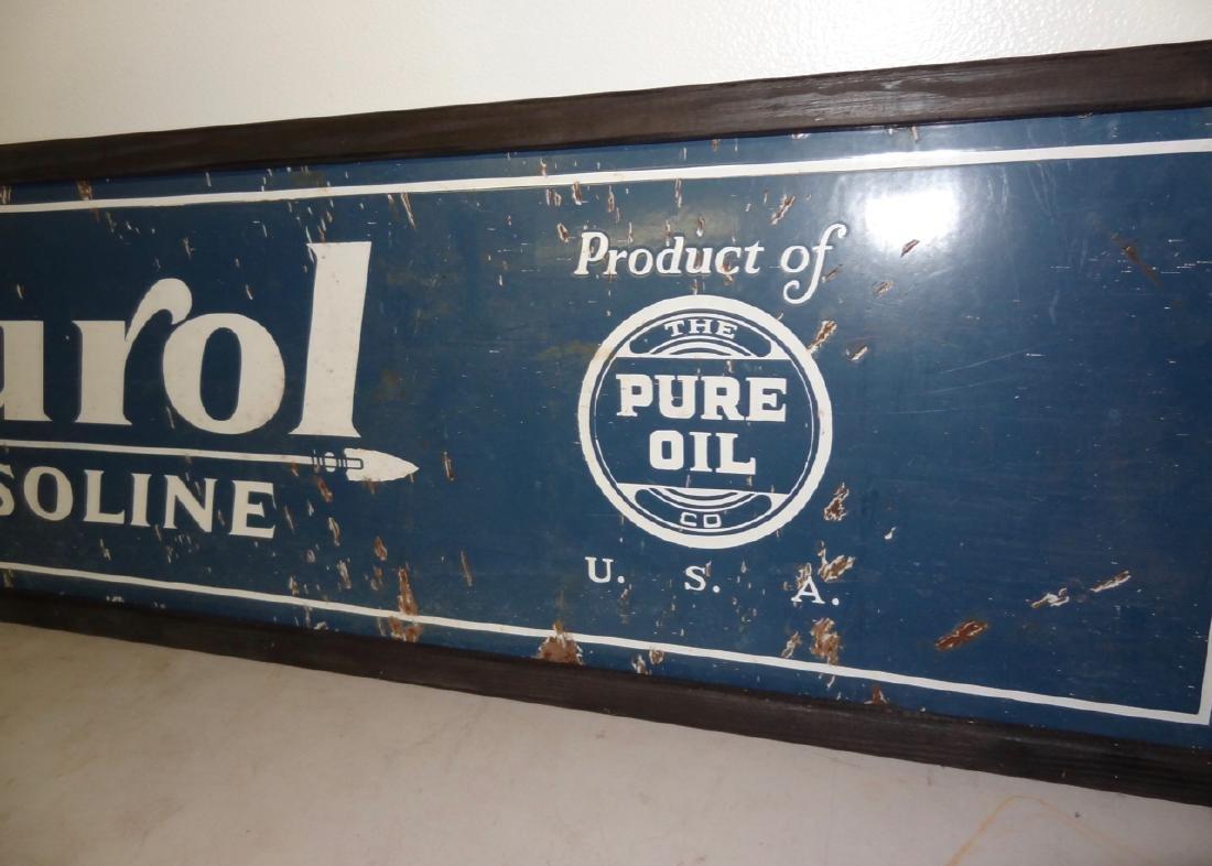 Purol Gasoline Sign - 3