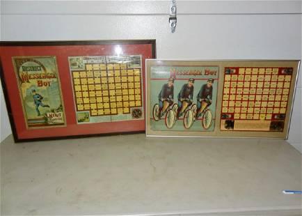 2 Messenger Boy Framed Games