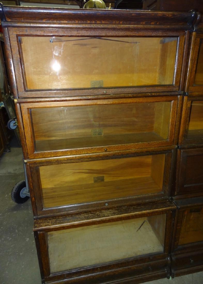 Oak Globe Wennicke Stacking Bookcases - 2