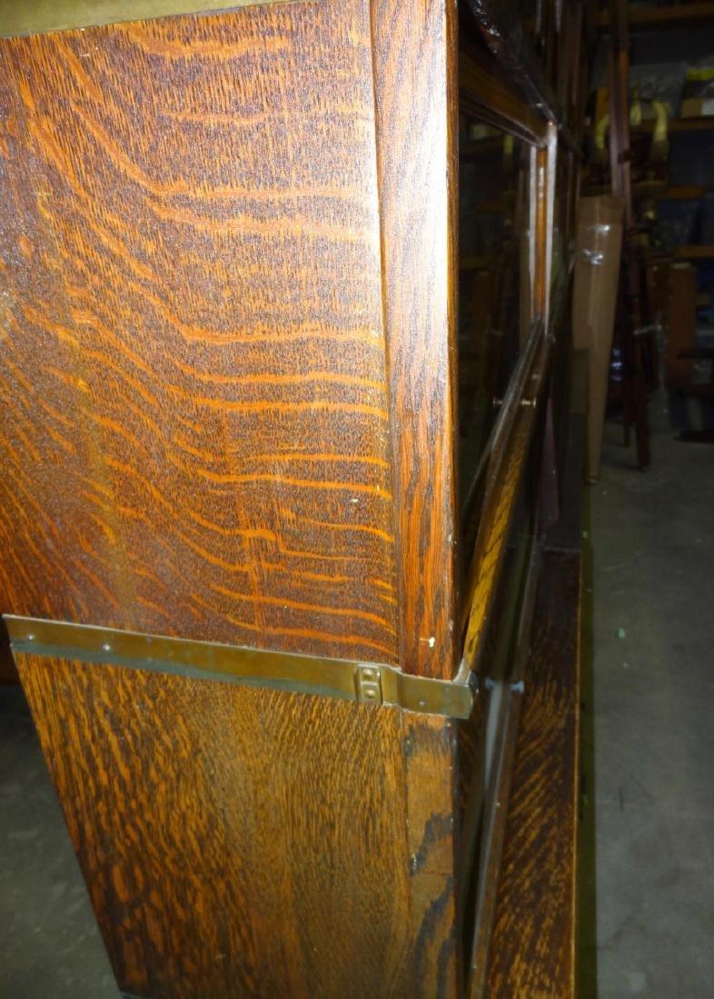 Oak Globe Wennicke Stacking Bookcases - 6