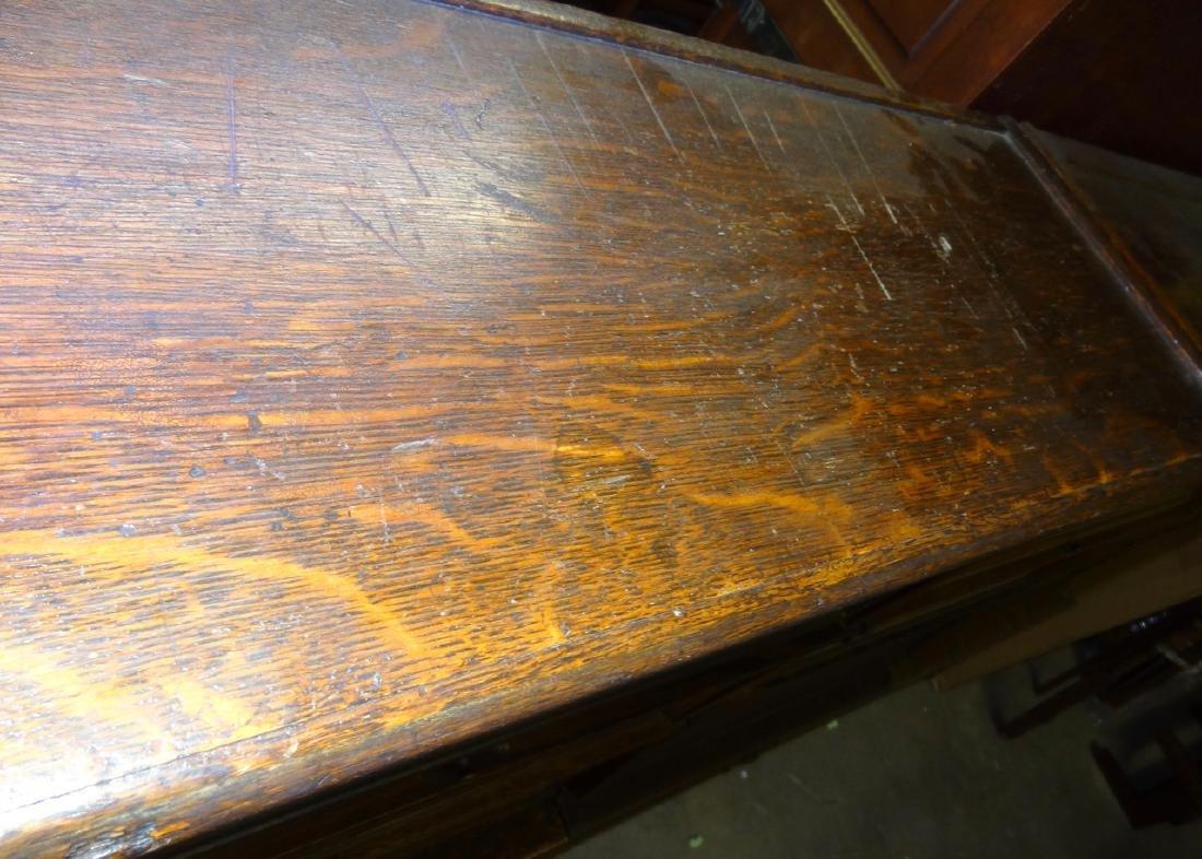 Oak Globe Wennicke Stacking Bookcases - 7