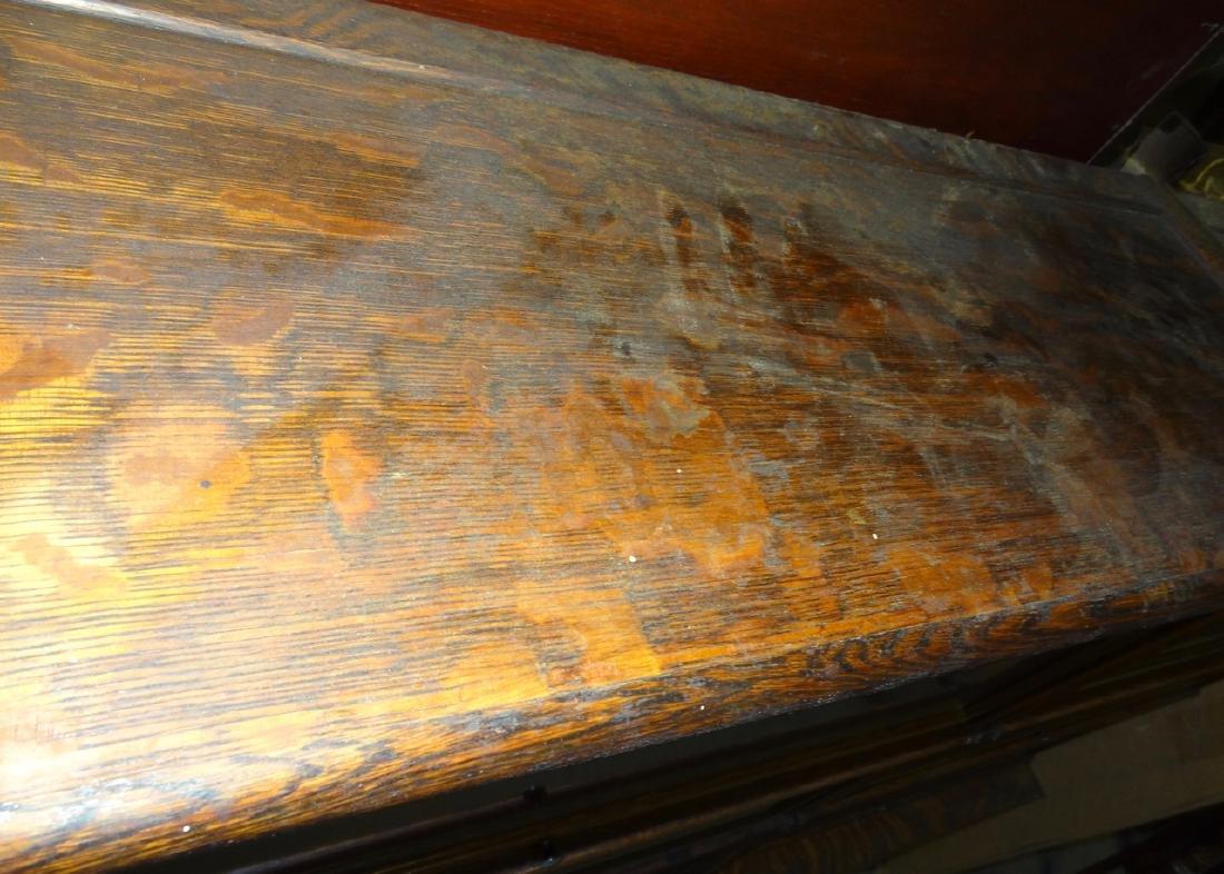 Oak Globe Wennicke Stacking Bookcases - 8
