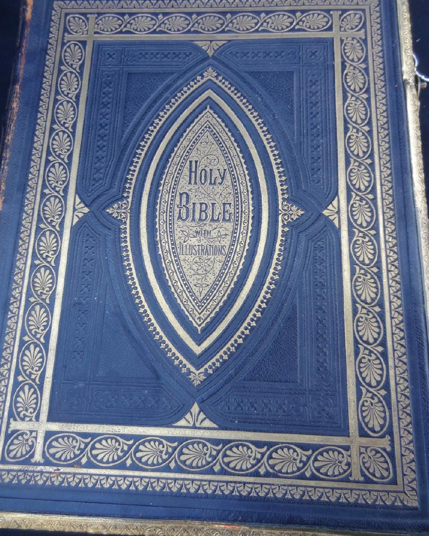 Early Leather Bounded Bible - 2