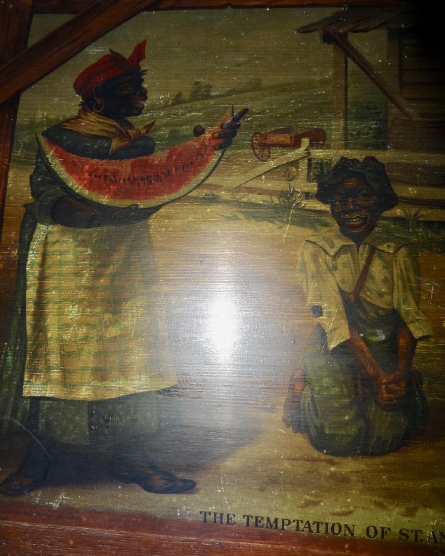 Early Paul Jones & Co. Black Advertising Sign - 5
