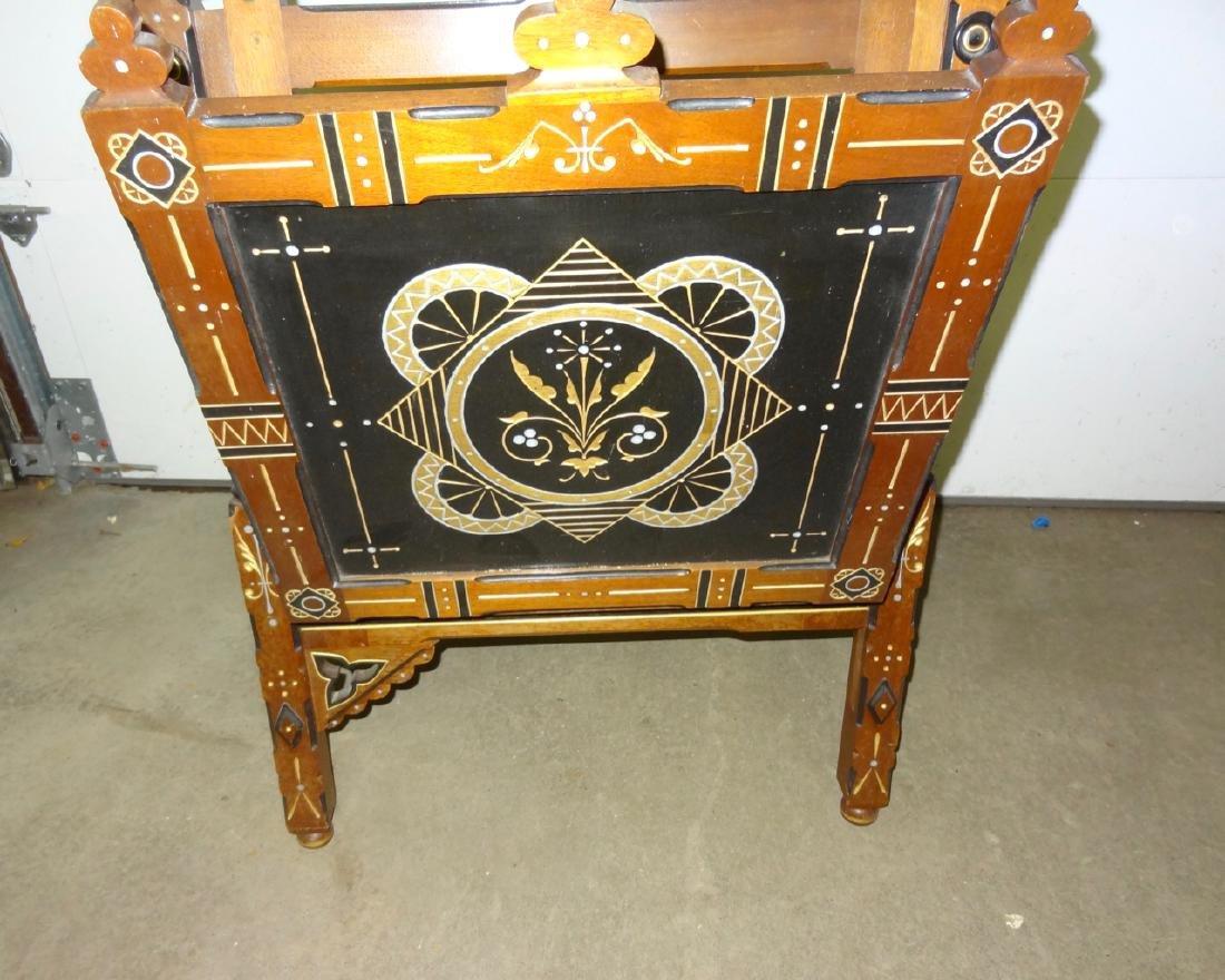 Fabulous Carved Victorian Eastlake Easel - 2