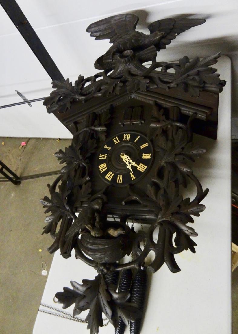 Rare Black Forest Clock