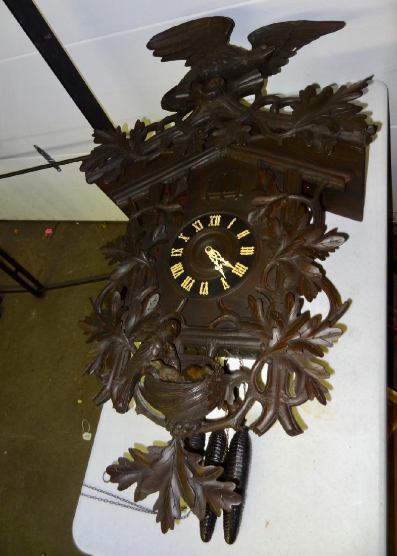 Rare Black Forest Clock - 2