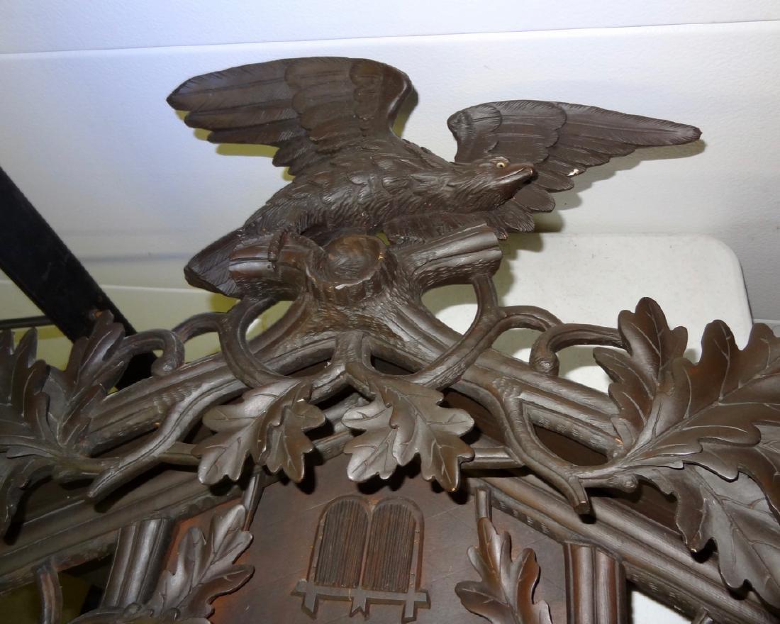 Rare Black Forest Clock - 3