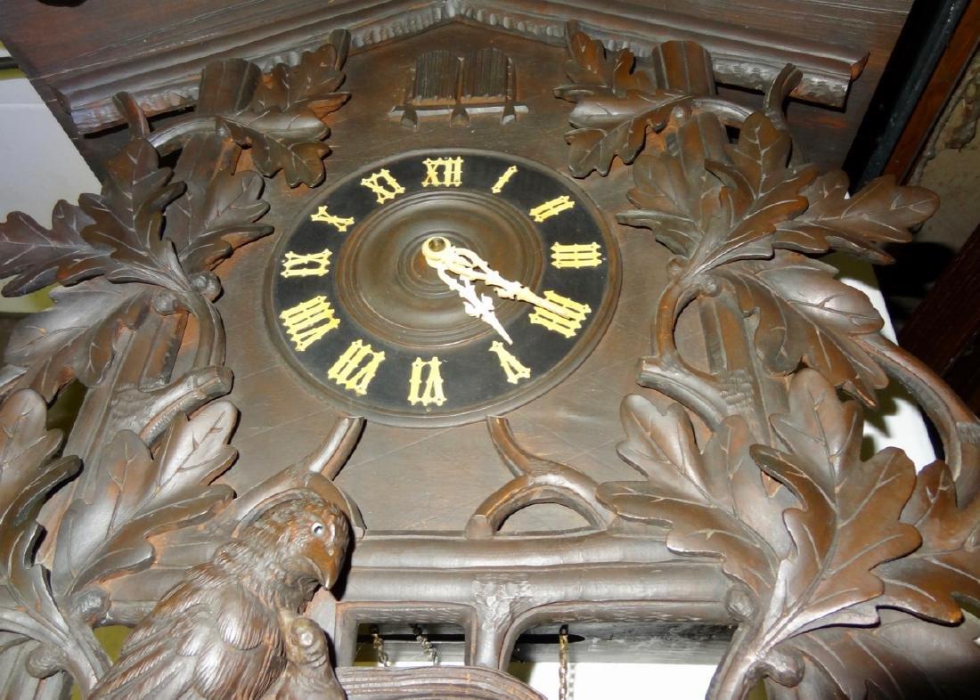 Rare Black Forest Clock - 4