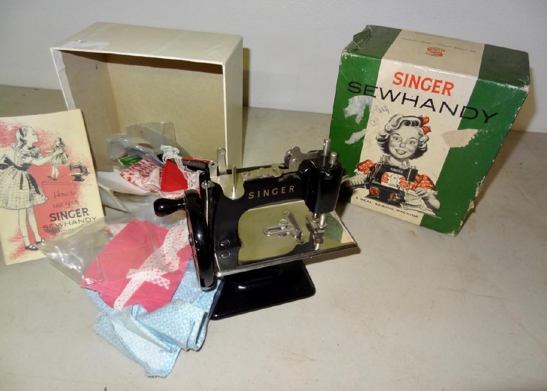 Singer Sewing Machine in Box