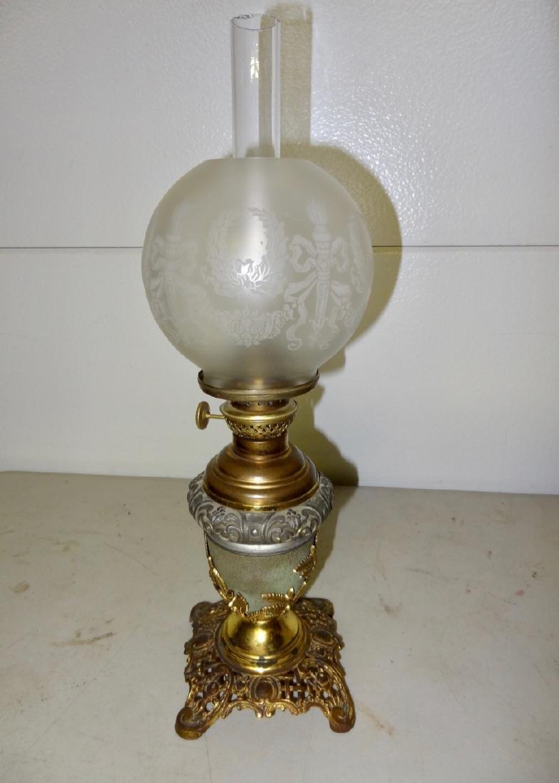 Miniature B&H Banquet Lamp