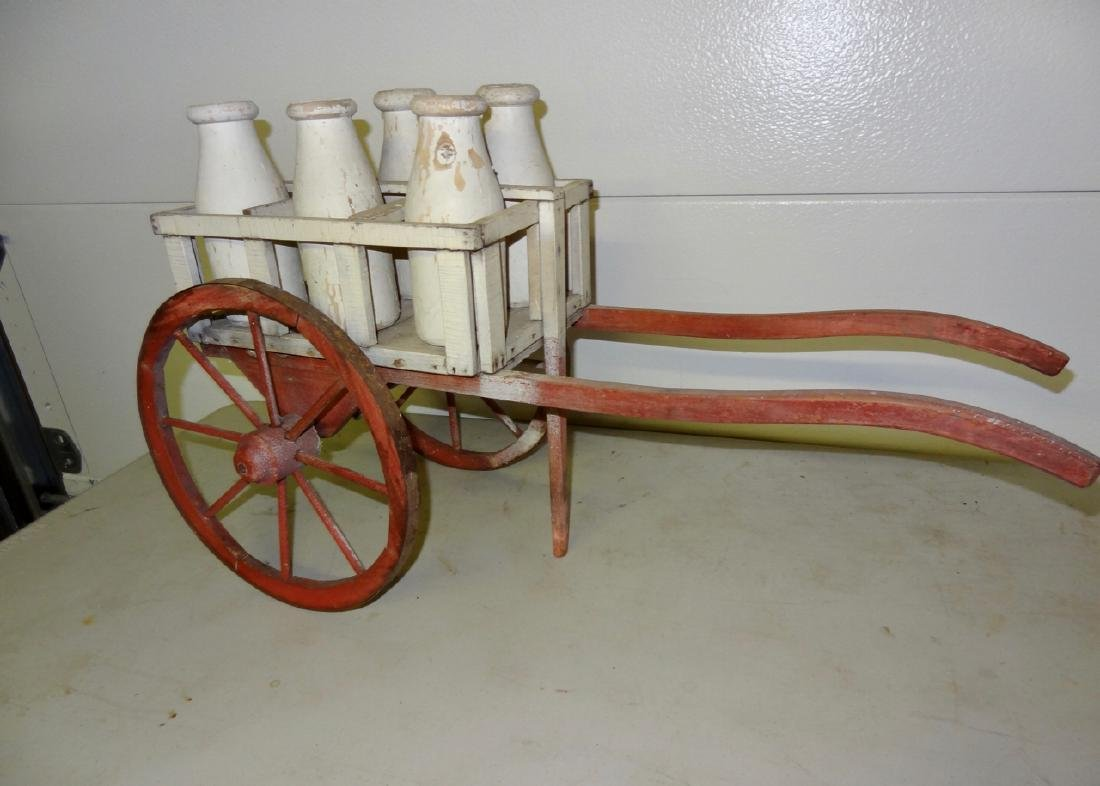 Early Milk Cartwagon
