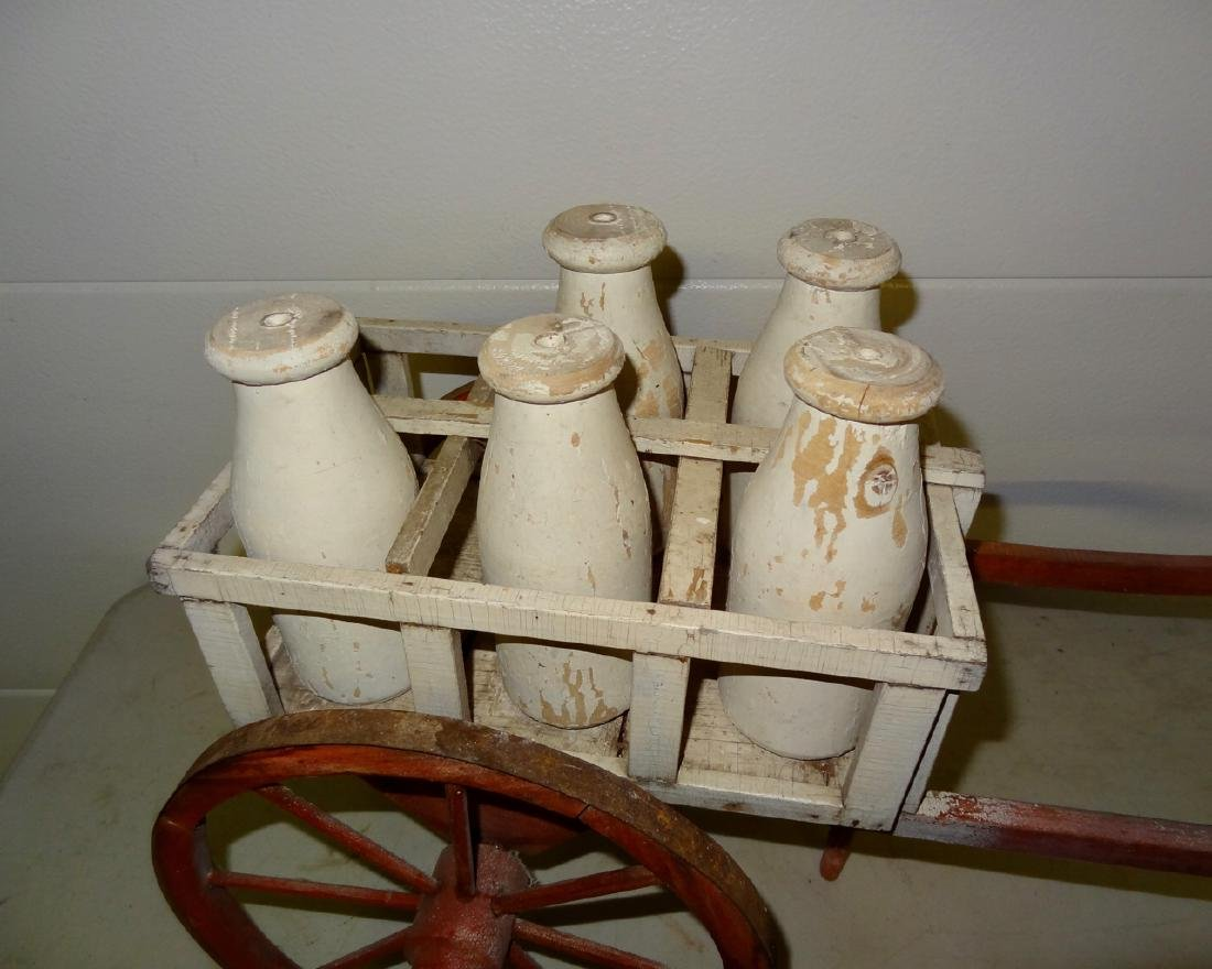 Early Milk Cartwagon - 2