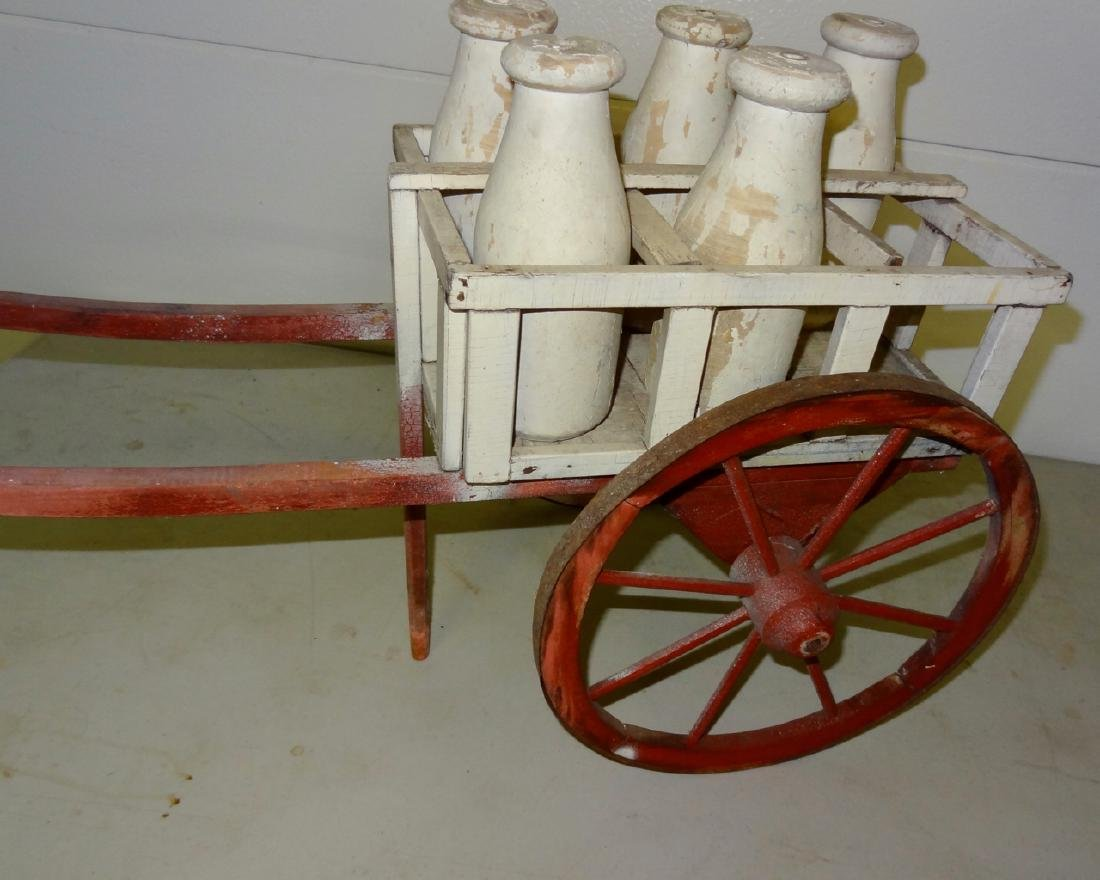 Early Milk Cartwagon - 3