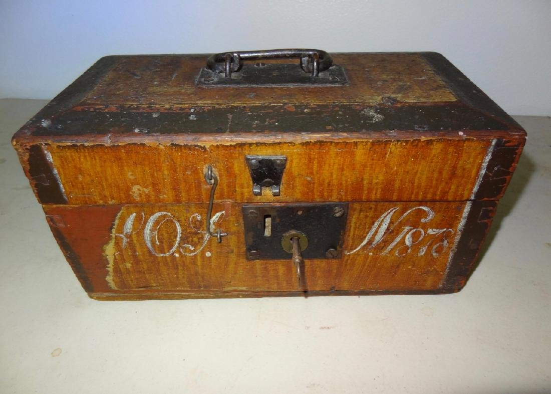 Grainpainted Document Box