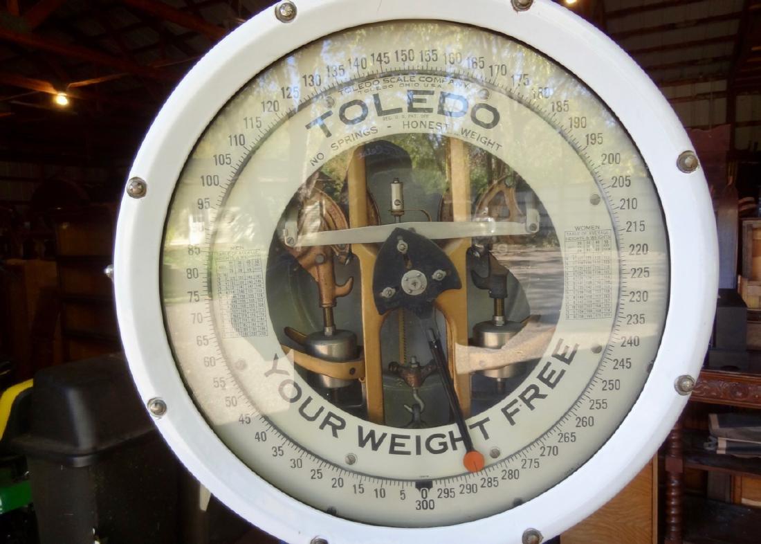 Toledo Porcelain Automatic Scale - 2