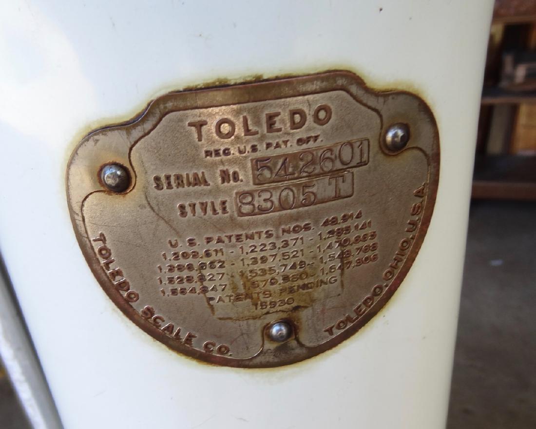 Toledo Porcelain Automatic Scale - 3